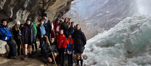 Campetto invernale scout a Noasca